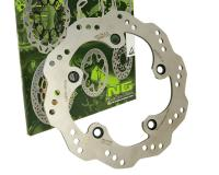 brake disc NG Wavy for Kymco Xciting 250, 300, 500cc