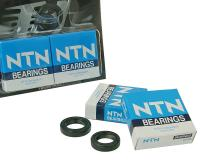 crankshaft bearings Naraku heavy duty left and right incl. oil seals for Peugeot horiz.