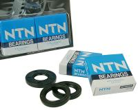 crankshaft bearings Naraku heavy duty left and right incl. oil seals for Hyosung