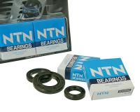 crankshaft bearings Naraku heavy duty left and right incl. oil seals for Morini