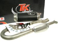 exhaust Turbo Kit Quad / ATV 4T E-marked for Kymco KXR, MXU, Maxxer 250/300