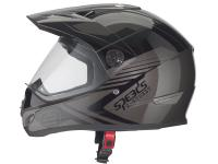 helmet Speeds Cross X-Street Decor anthracite / black glossy