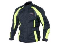 motorcycle jacket Speeds Drive black neon-colored