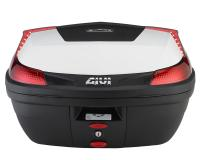 Top Case GiVi B47 Blade Monolock scooter trunk white 47L capacity