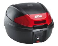 Top Case GiVi E300 Monolock scooter trunk black 30L capacity