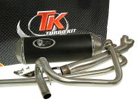 exhaust Turbo Kit 2-in-1 X-Road for Hyosung GT125