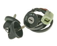 ignition switch / ignition lock for Kymco Maxxer, MXU, KXR