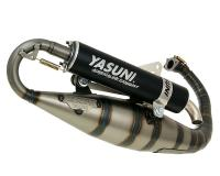 exhaust Yasuni Carrera 16 black for Minarelli vertical