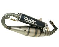 exhaust Yasuni Carrera 16/07 black for Piaggio