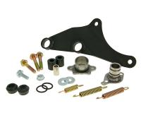 exhaust Yasuni Carrera 20 mounting kit complete for Piaggio