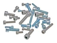 hexagon socket head cap screws DIN912 zinc plated or stainless steel - packs