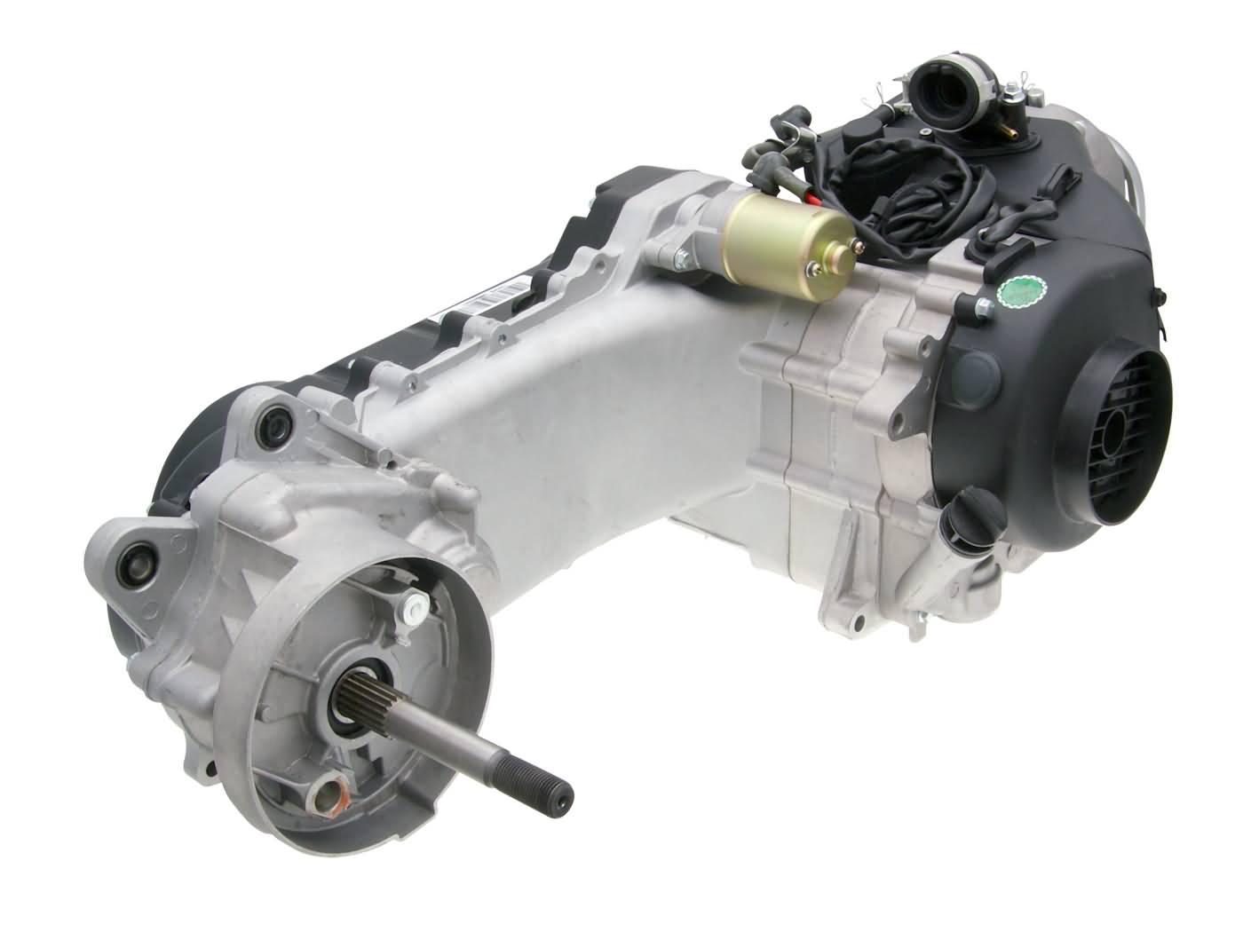 engine complete for 12 inch wheel, 788mm drive belt, SAS