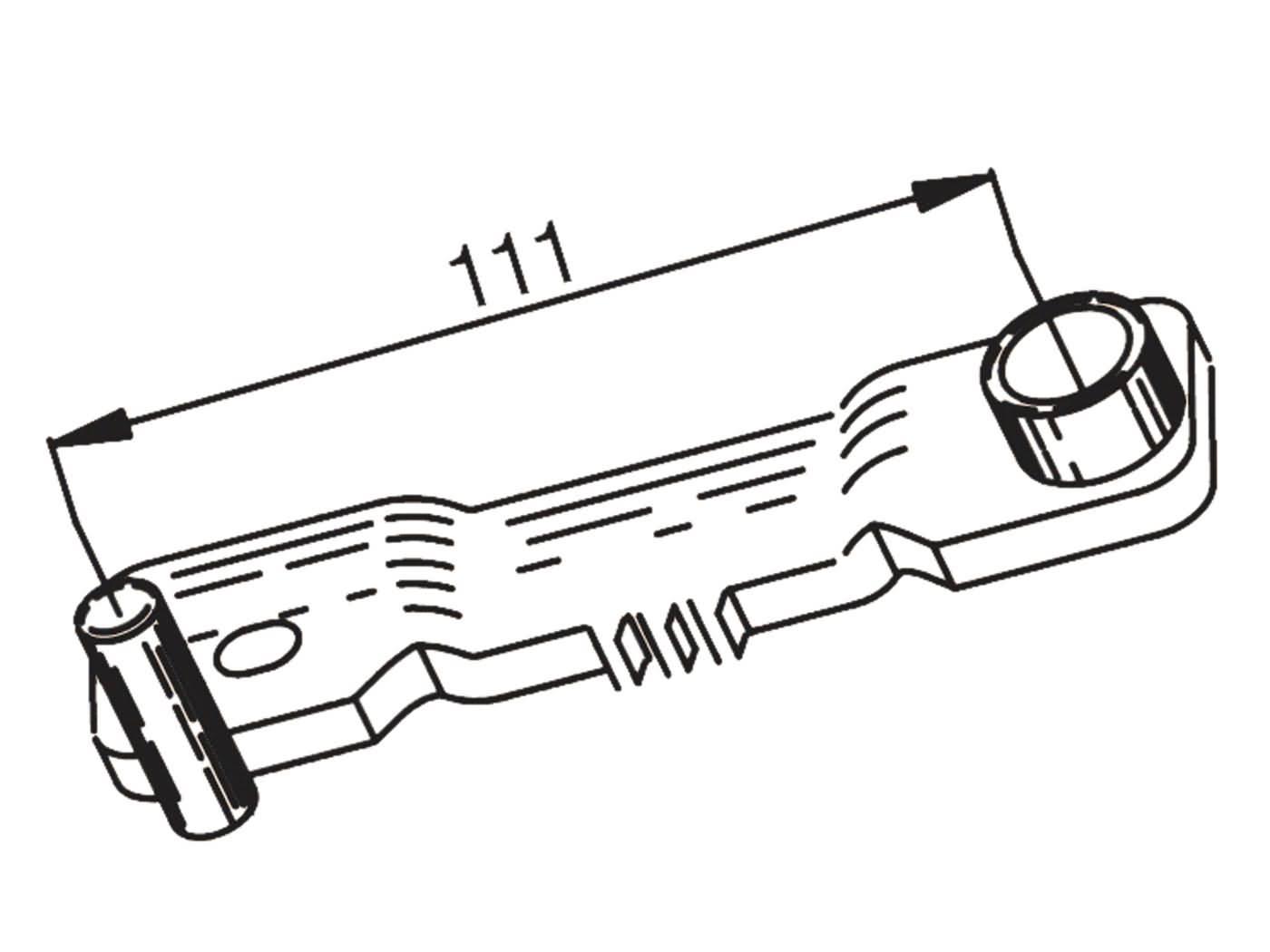 variator holder / blocking tool Buzzetti for Peugeot, Sym