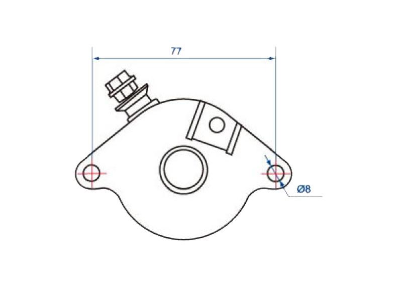 Starter Motor For Gilera Dna Runner Vx Nexus 125 200