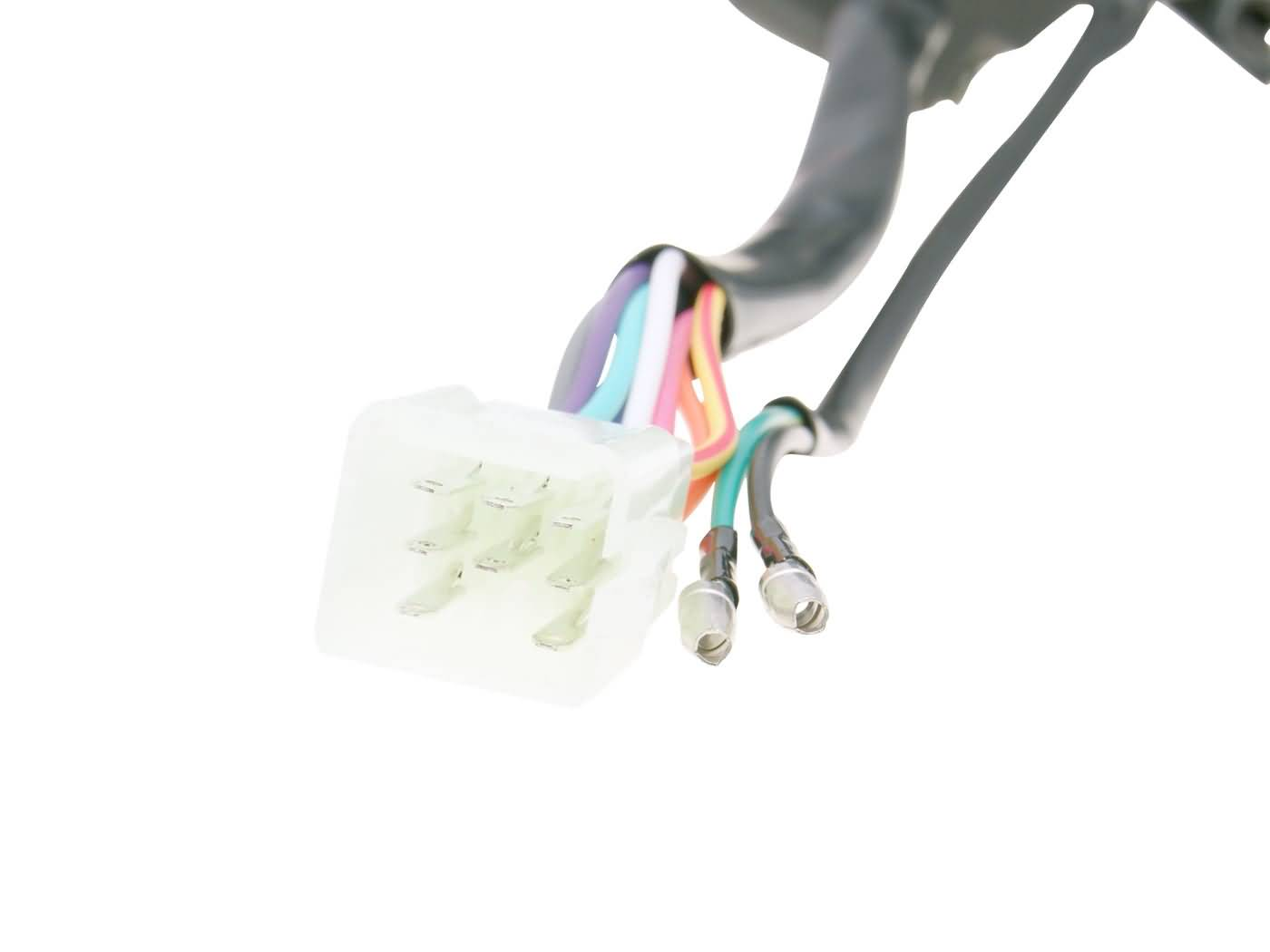 left handle switch assy with brake lever scooter parts. Black Bedroom Furniture Sets. Home Design Ideas