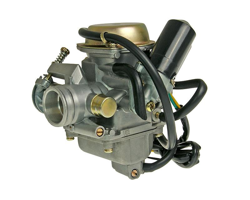 Walbro together with Wildfire Moped furthermore Gy6 150 Carb Connections Diagram likewise Genuine Roughhouse Stock Carburetor Wadjustable Mix P12471 in addition 139qmb 50cc 4 Stroke Gy6 Scooter Engine Motor Au1395046. on 50cc carb diagram